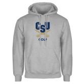 Grey Fleece Hoodie-Golf