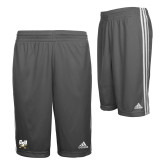 Adidas Climalite Charcoal Practice Short-Primary Athletic Mark