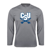 Performance Steel Longsleeve Shirt-Primary Athletic Mark
