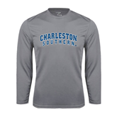 Performance Steel Longsleeve Shirt-Charleston Southern Buccaneers