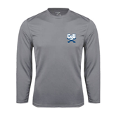 Performance Steel Longsleeve Shirt-Football