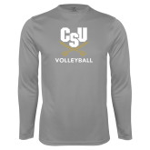 Performance Steel Longsleeve Shirt-Volleyball