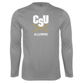 Performance Steel Longsleeve Shirt-Alumni