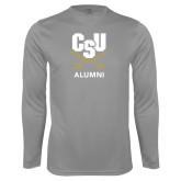 Syntrel Performance Steel Longsleeve Shirt-Alumni