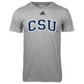 Adidas Climalite Sport Grey Ultimate Performance Tee-CSU Arched