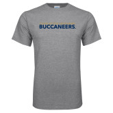 Grey T Shirt-Charleston Southern Buccaneers