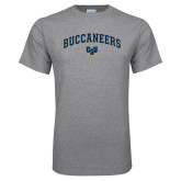 Grey T Shirt-Arched Buccaneers