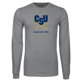 Grey Long Sleeve T Shirt-Class of … Personalized Year