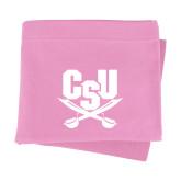 Pink Sweatshirt Blanket-Primary Athletic Mark