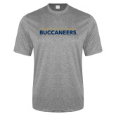 Performance Grey Heather Contender Tee-Charleston Southern Buccaneers