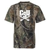 Realtree Camo T Shirt-Primary Athletic Mark