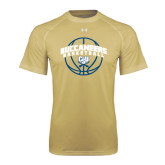 Under Armour Vegas Gold Tech Tee-Buccaneers Basketball Arched