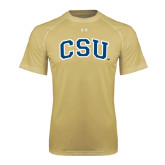 Under Armour Vegas Gold Tech Tee-CSU Arched