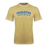 Under Armour Vegas Gold Tech Tee-Charleston Southern Arched