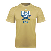 Under Armour Vegas Gold Tech Tee-Dad