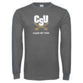 Charcoal Long Sleeve T Shirt-Class of … Personalized Year