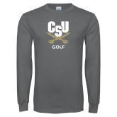 Charcoal Long Sleeve T Shirt-Golf