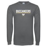 Charcoal Long Sleeve T Shirt-Basketball in Bar