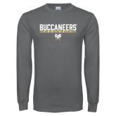 Charcoal Long Sleeve T Shirt-Football in Bar