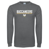 Charcoal Long Sleeve T Shirt-Volleyball in Bar