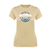Ladies Syntrel Performance Vegas Gold Tee-Buccaneers Basketball Arched