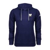 Adidas Climawarm Navy Team Issue Hoodie-CSU-Swords Logo