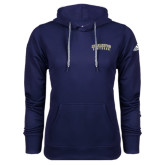 Adidas Climawarm Navy Team Issue Hoodie-Charleston Southern Arched