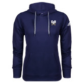 Adidas Climawarm Navy Team Issue Hoodie-Primary Athletic Mark