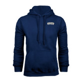 Navy Fleece Hood-Charleston Southern Arched