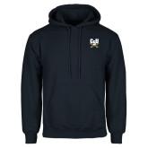 Navy Fleece Hoodie-Primary Athletic Mark