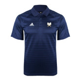 Adidas Climalite Navy Jaquard Select Polo-CSU-Swords Logo