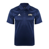 Adidas Climalite Navy Jaquard Select Polo-CSU Arched