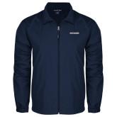 Full Zip Navy Wind Jacket-Charleston Southern Buccaneers
