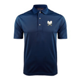 Navy Dry Mesh Polo-CSU-Swords Logo