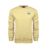 Champion Vegas Gold Fleece Crew-CSU-Swords Logo