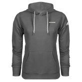 Adidas Climawarm Charcoal Team Issue Hoodie-Charleston Southern Buccaneers