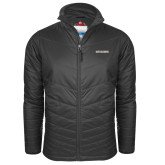 Columbia Mighty LITE Charcoal Jacket-Charleston Southern Buccaneers