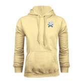 Champion Vegas Gold Fleece Hood-CSU-Swords Logo