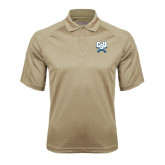 Vegas Gold Textured Saddle Shoulder Polo-CSU-Swords Logo