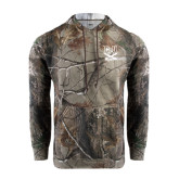 Realtree Camo Fleece Hood-CSU-Swords Logo