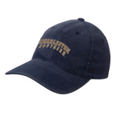 Navy OttoFlex Unstructured Low Profile Hat-Charleston Southern Arched