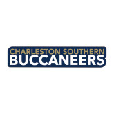 Medium Magnet-Charleston Southern Buccaneers, 12in Wide