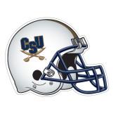 Football Helmet Magnet-CSU-Swords Logo