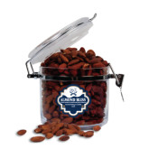 Almond Bliss Round Canister-CSU-Swords Logo