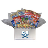 College Care Package Snackdown Deluxe-CSU-Swords Logo