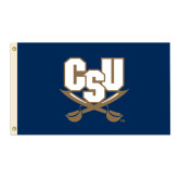 3 ft x 5 ft Flag-CSU-Swords Logo