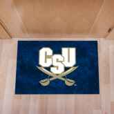 Full Color Indoor Floor Mat-CSU-Swords Logo