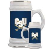 Full Color Decorative Ceramic Mug 22oz-CSU-Swords Logo