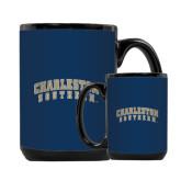 Full Color Black Mug 15oz-Charleston Southern Arched