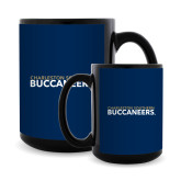 Full Color Black Mug 15oz-Charleston Southern Buccaneers